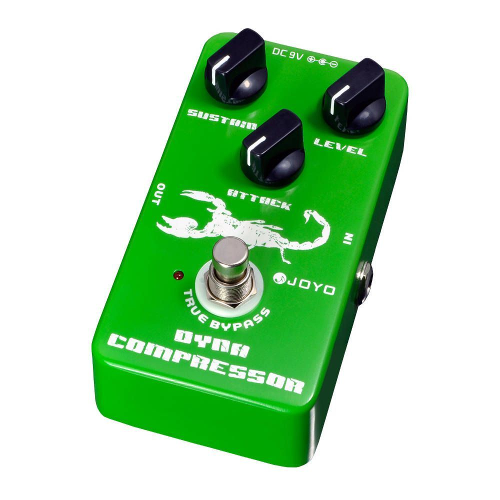 Pedal Guitarra Joyo Dinamic Compressor - Arizy