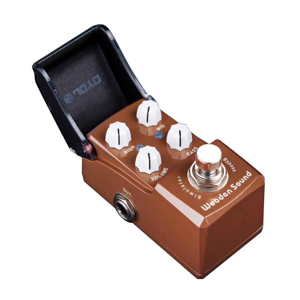 Pedal Joyo Iron Man Wooden Sound Acoustic Simulator - Arizy