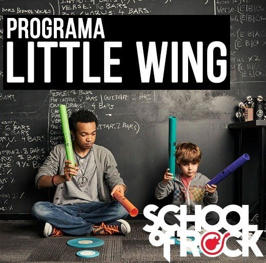 Programa Little Wing (02 - 05 anos) - School Of Rock