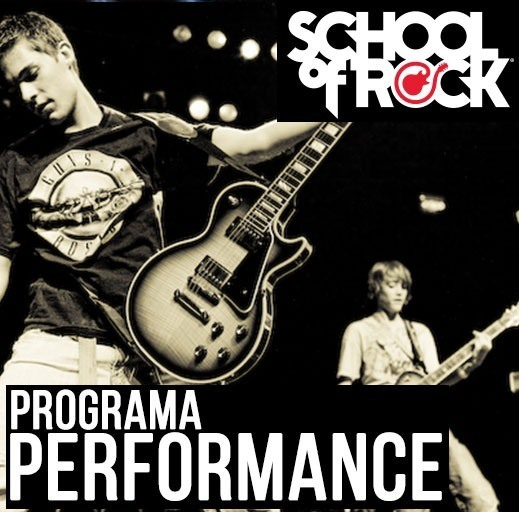 Programa Performance Program ( 12 a 17 anos) - School Of Rock
