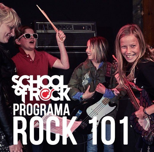Programa Rock 101 (07 a 11 anos) - School Of Rock