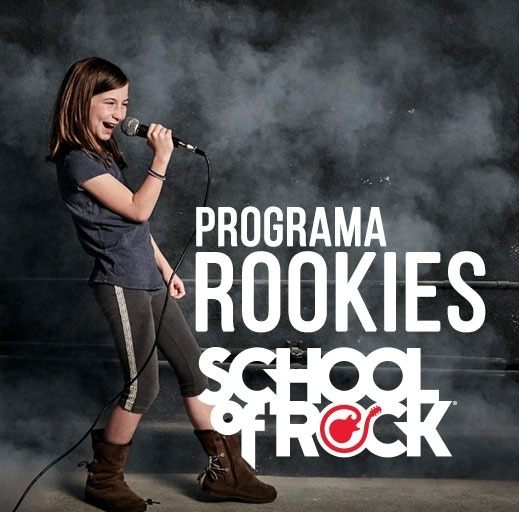 Programa Rookies (05 a 06 anos) - School Of Rock