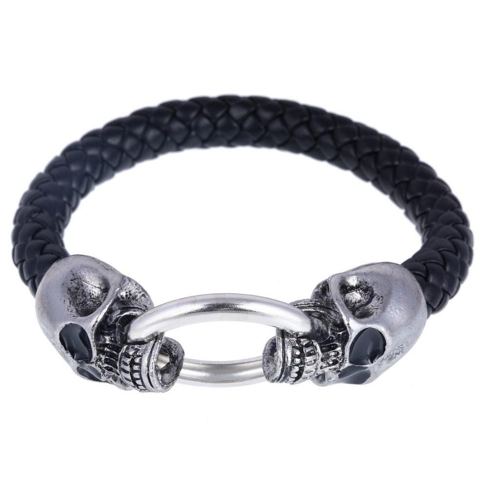 Pulseira Caveira Skull Click