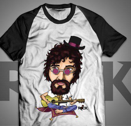 Raul Seixas - Camiseta Exclusiva