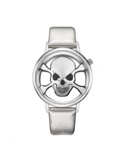 Relógio All Silver Skull II