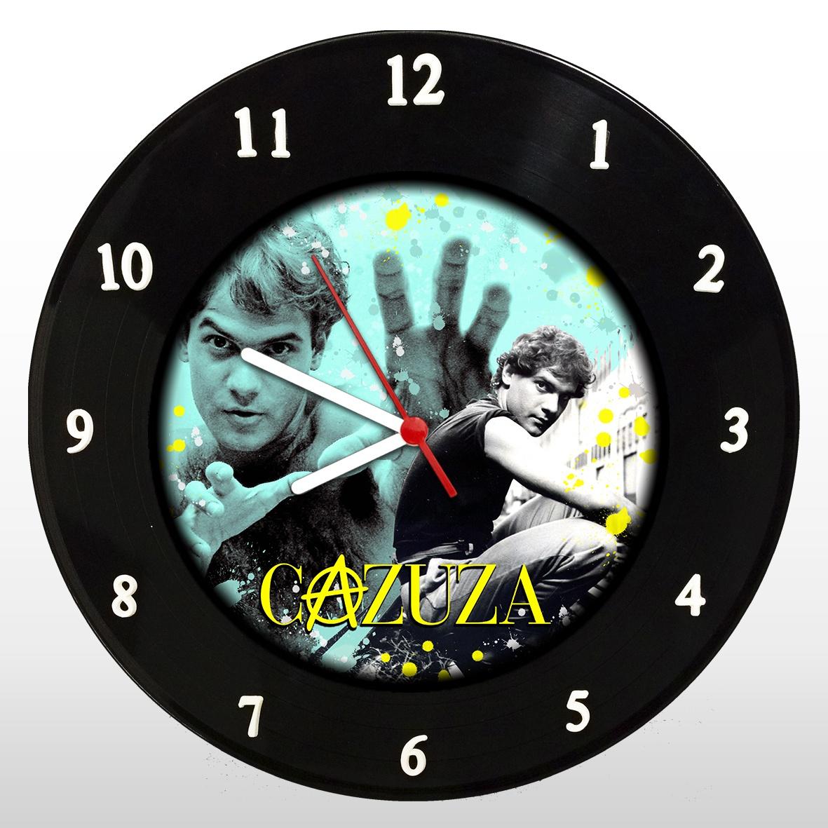Relógio de Parede em Disco de Vinil Mr. Rock Cazuza