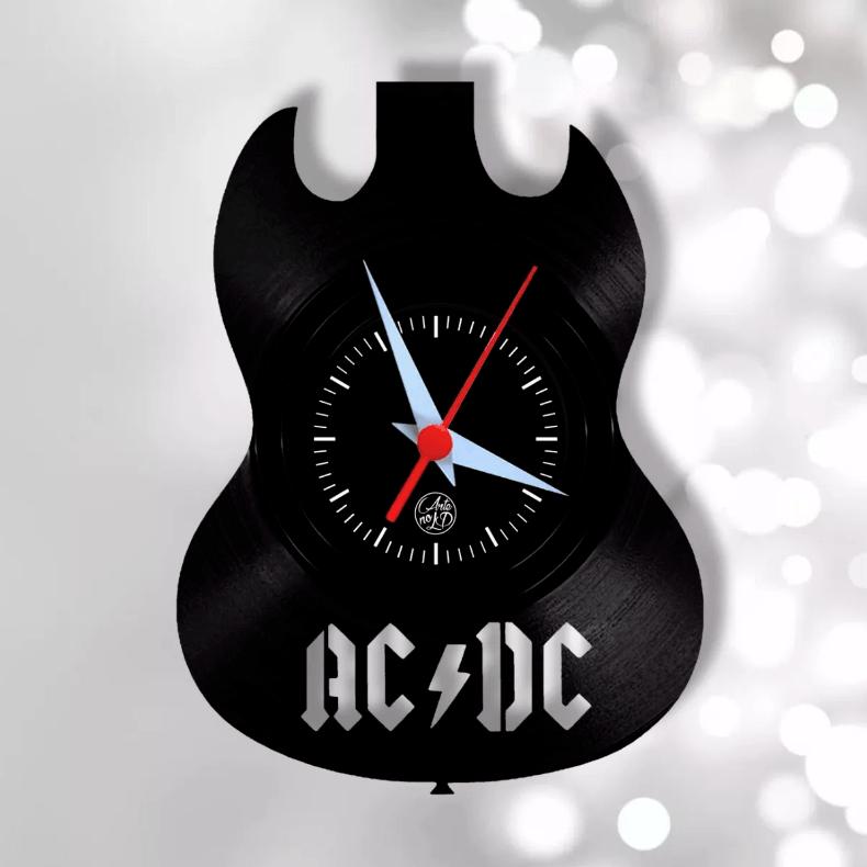Relógio de Parede - Guitarra AC/DC