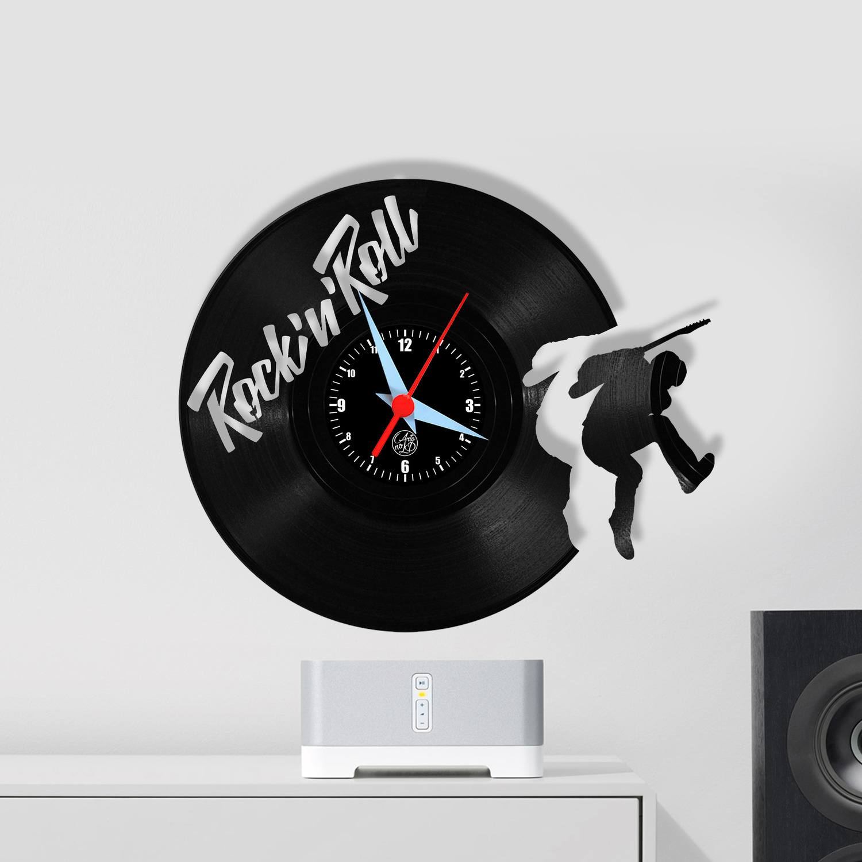 Relógio de Parede - Guitarrista