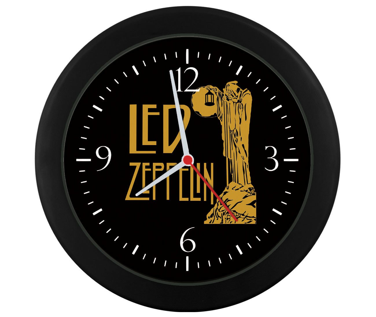 Relógio de parede Led Zeppelin