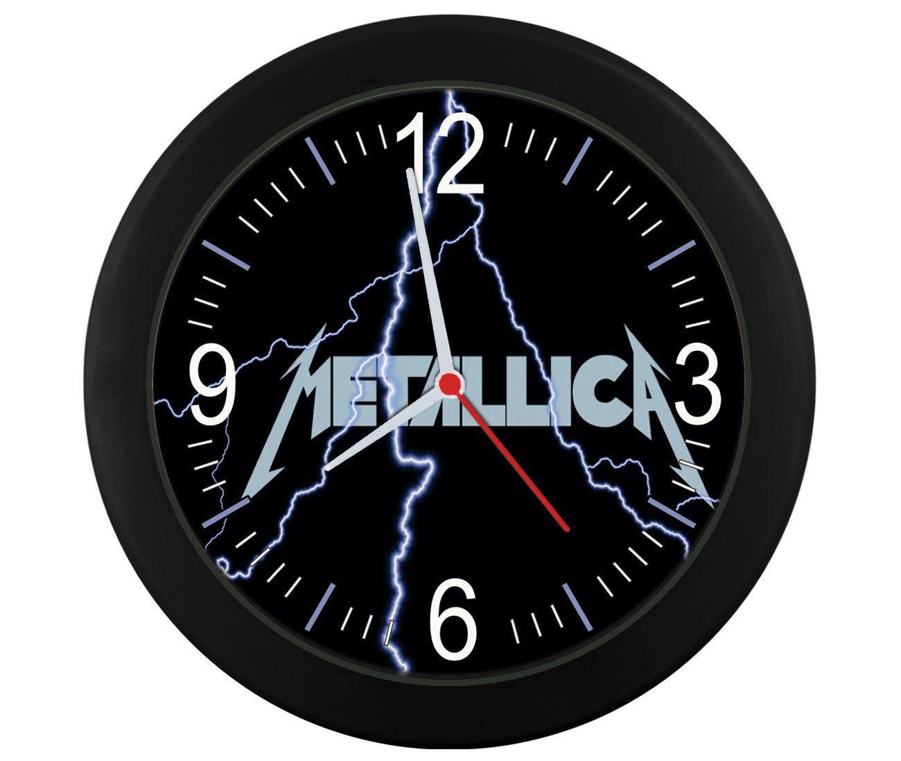 Relógio de parede Metallica