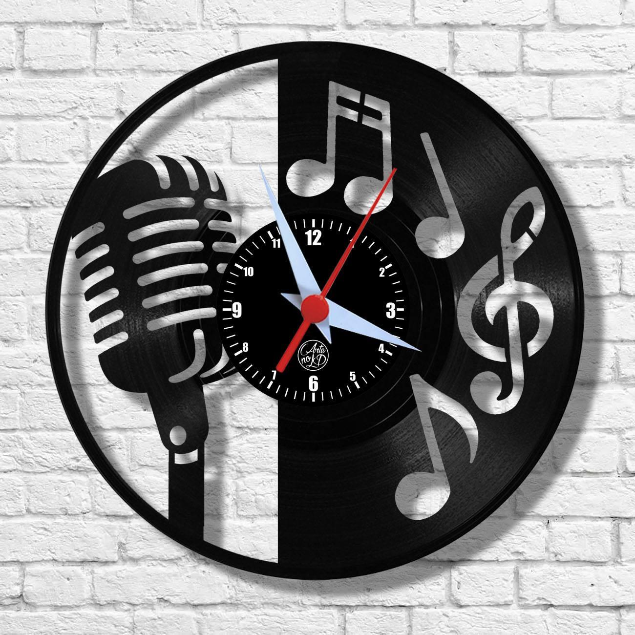Relógio de Parede - Microfone