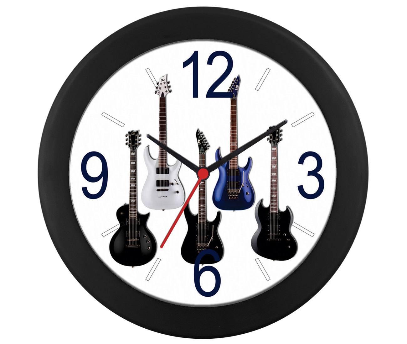 Relógio parede guitarra