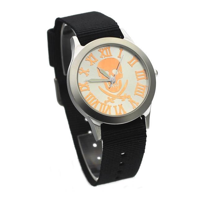 Relógio Pirate Skull - Azul