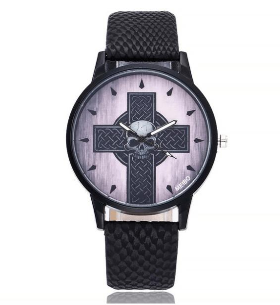 Relógio Skull Cross