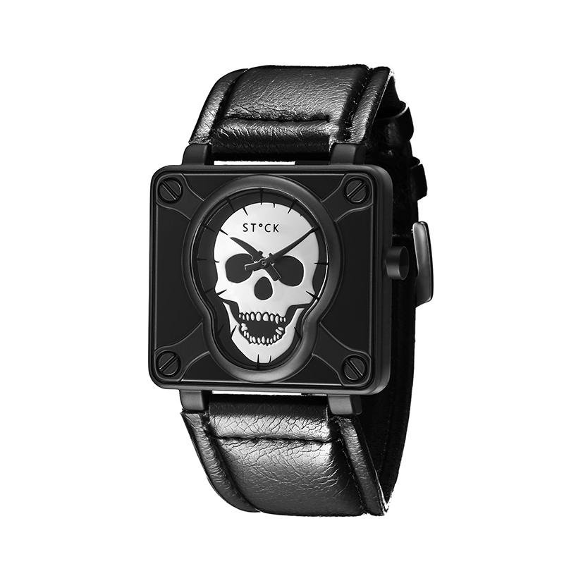 Relógio Skull Sword - Prata