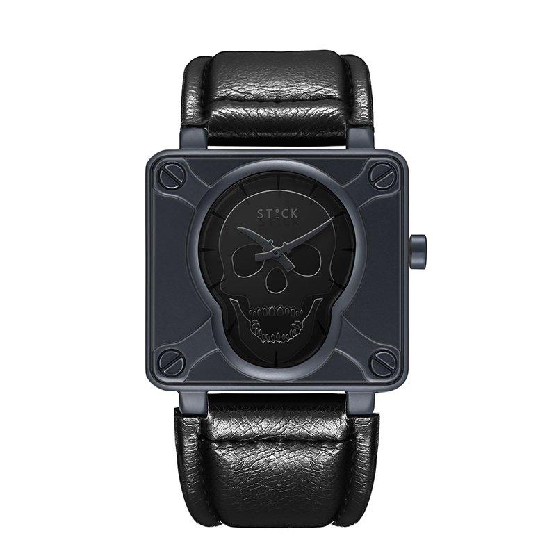 Relógio Skull Sword - Preto