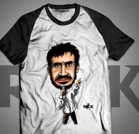 Renato Russo - Legião Urbana - Camiseta Exclusiva