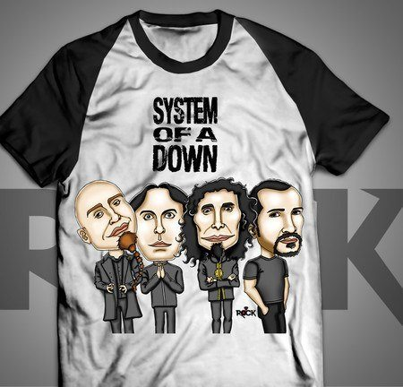System of a Down - Camiseta Exclusiva
