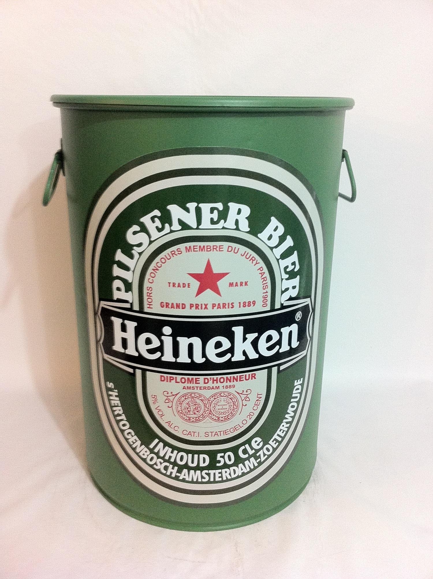 Tambor Decorativo Tamanho M Heineken