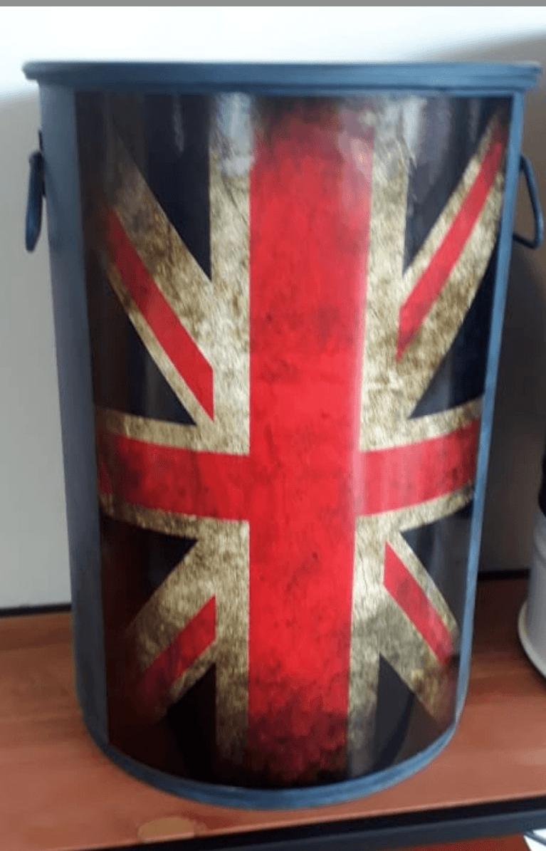 Tambor Decorativo Tamanho M Bandeira da Inglaterra