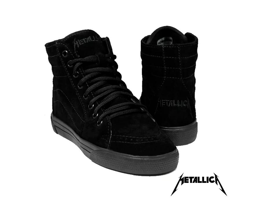 Tênis Feminino Metallica Black