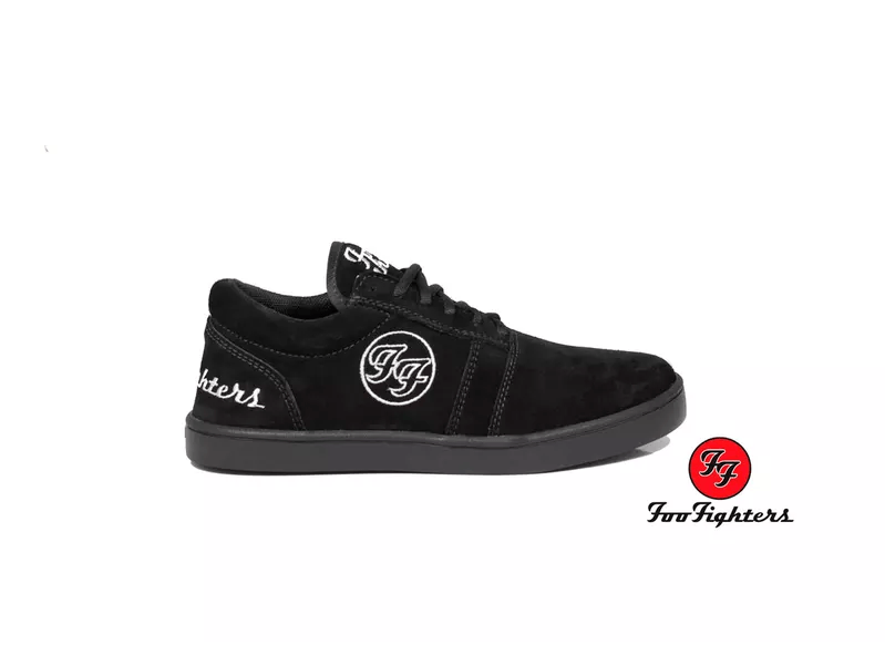 Tênis Masculino Foo Fighters Cano Baixo – BandShoes