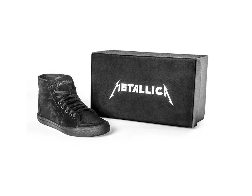 Tênis Masculino Metallica Cano Alto