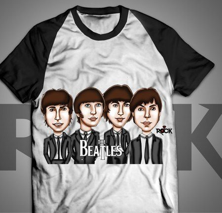 The Beatles - Camiseta Exclusiva