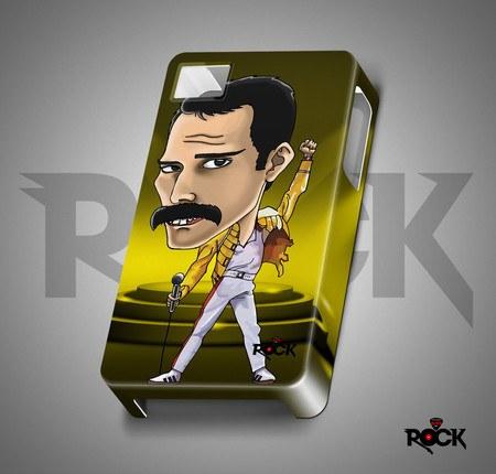 The Queen - Freddie Mercury - Capa de Celular Exclusiva