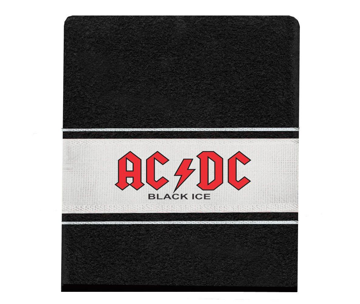 Toalha AC/DC Black Ice mão