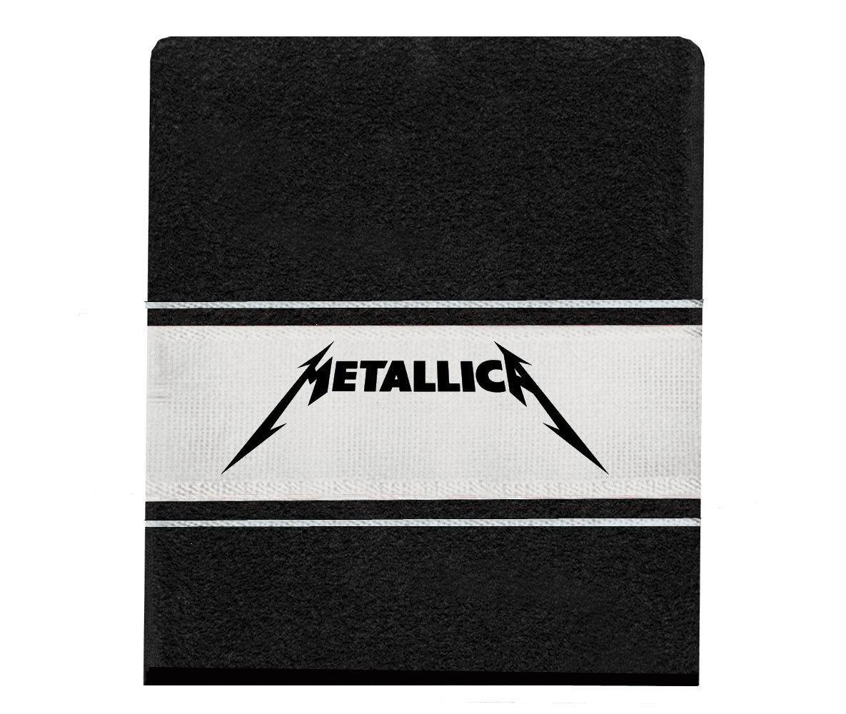 Toalha Metallica rosto