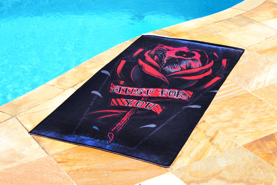 Toalha Rosa da Morte
