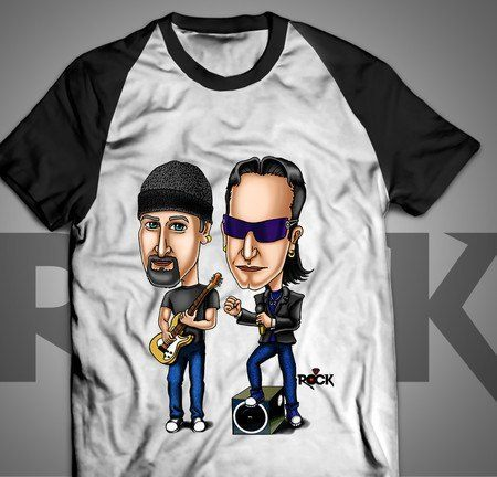 U2 - Camiseta Exclusiva