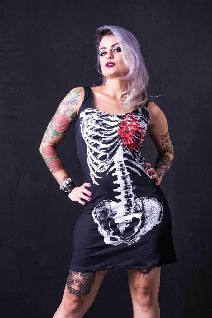 Vestido Esqueleto