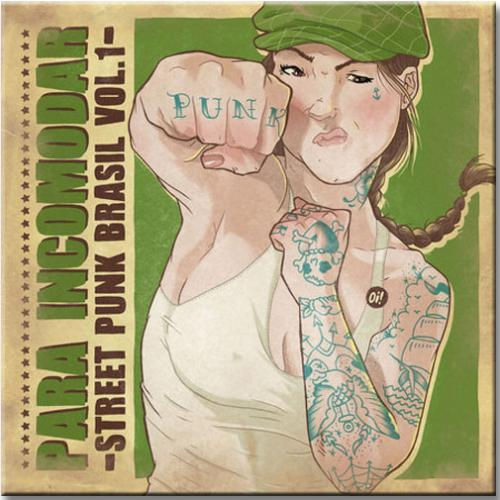 Vinil Para Incomodar - Street Punk Brasil Vol 1 - Diversos Nacionais
