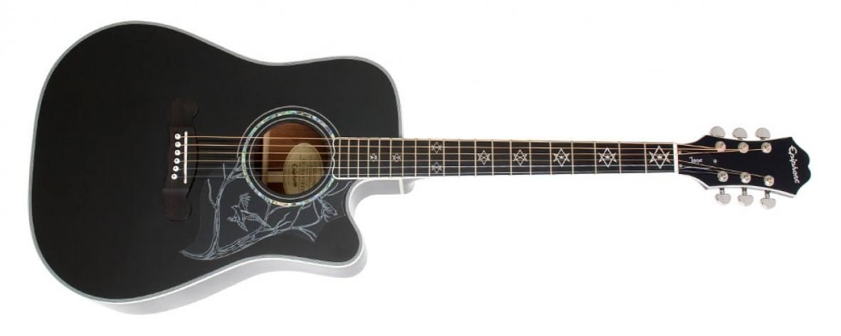 "Violão Epiphone Dave Navarro ""Jane"" Signature Black"