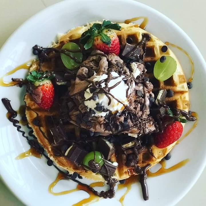 Waffle - Território Rock Burguer