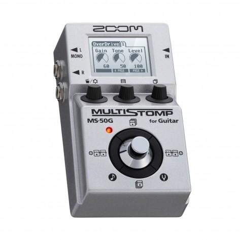 ZOOM MS 50G - Pedal de Efeitos para Guitarra