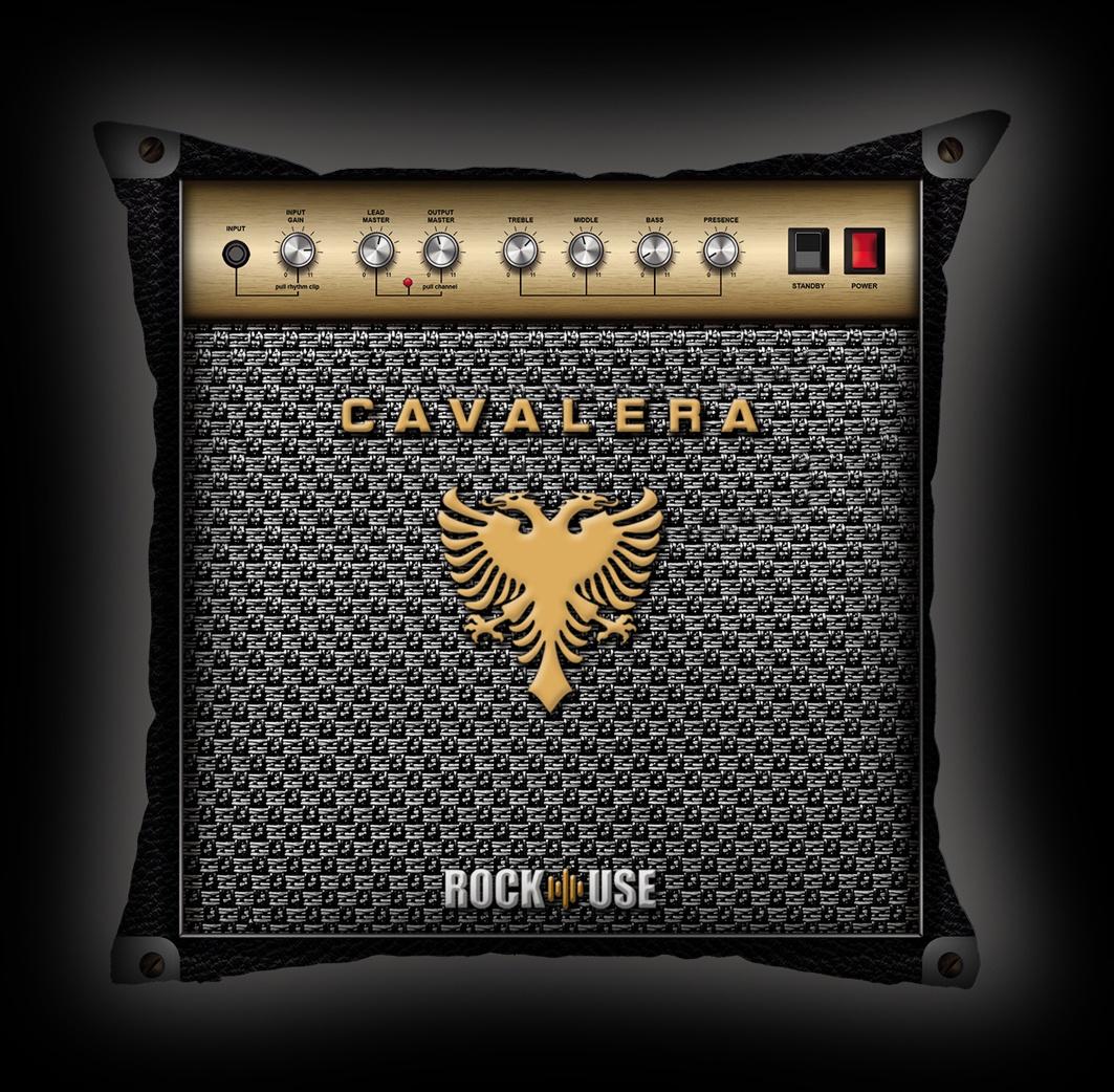 Almofada Cavalera - Amplificador