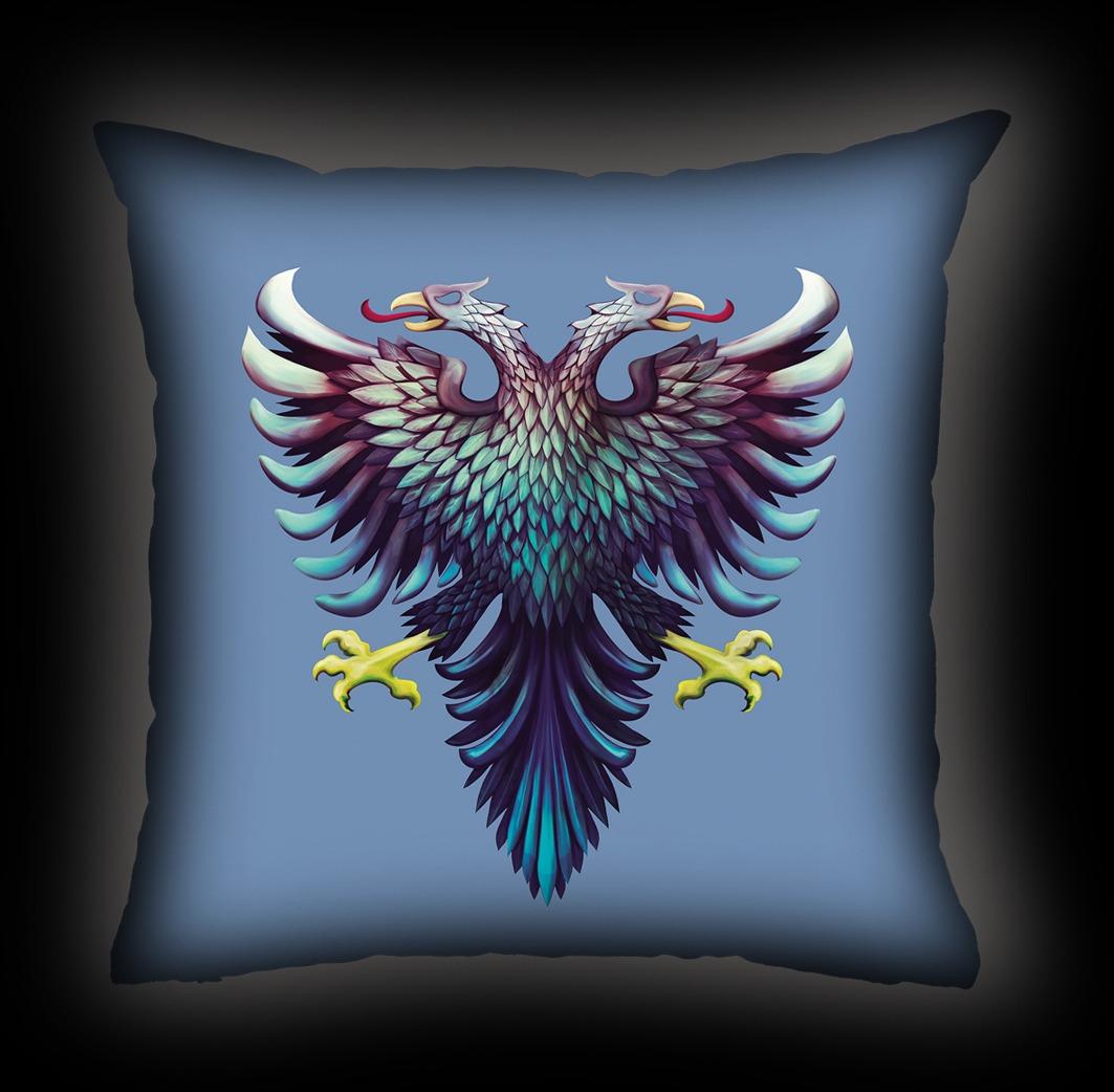 Almofada Cavalera - Blue Eagle