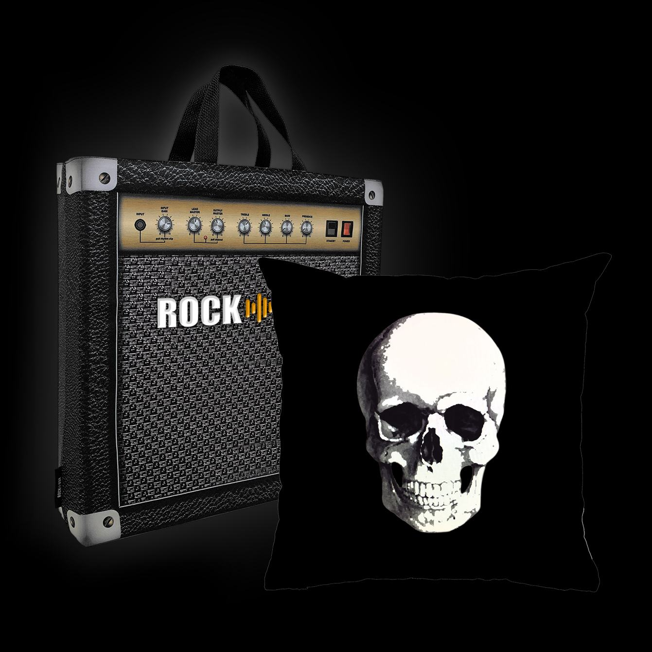 Rock Use - Caveira (Preto)