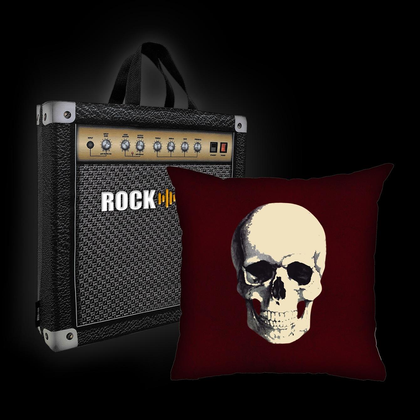 Rock Use -  Caveira (Vinho)