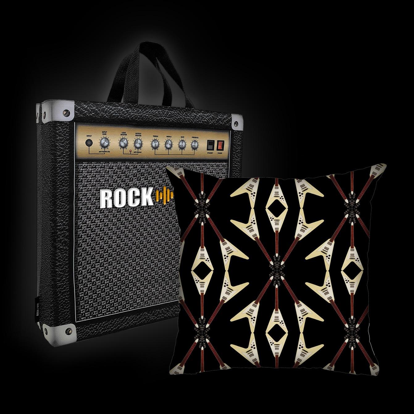 Rock Use - Flying V (Preto)