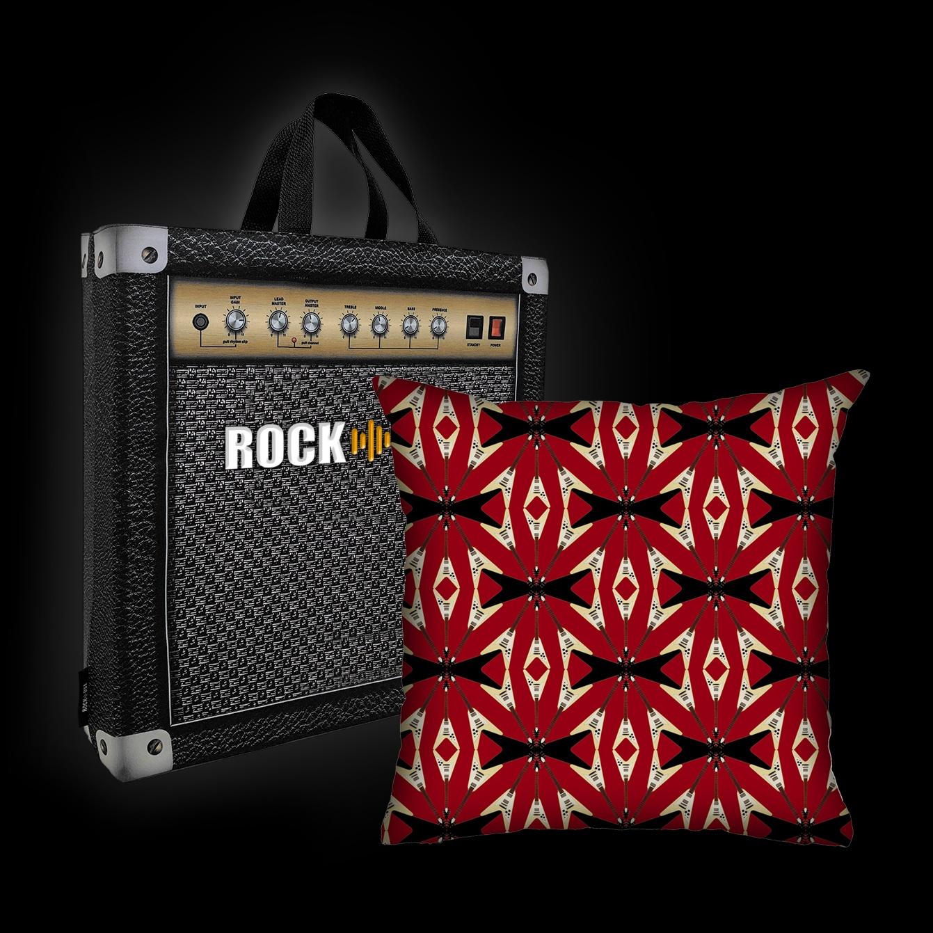 Rock Use - Flying V (vermelha)