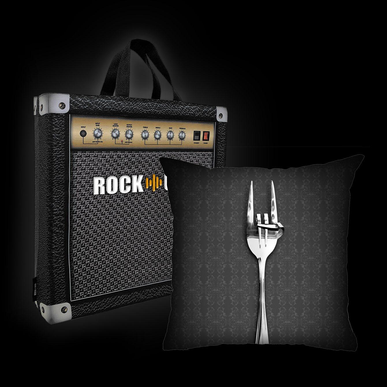 Rock Use - Fome de Rock (Cinza)