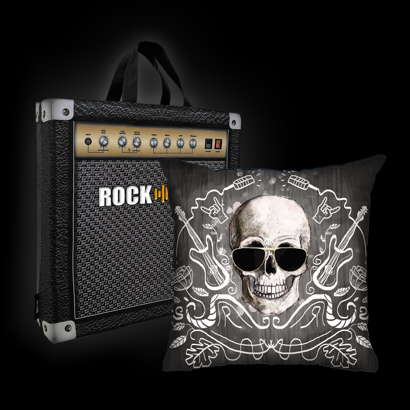 Ale Graziani - I love rock n'roll (preta)