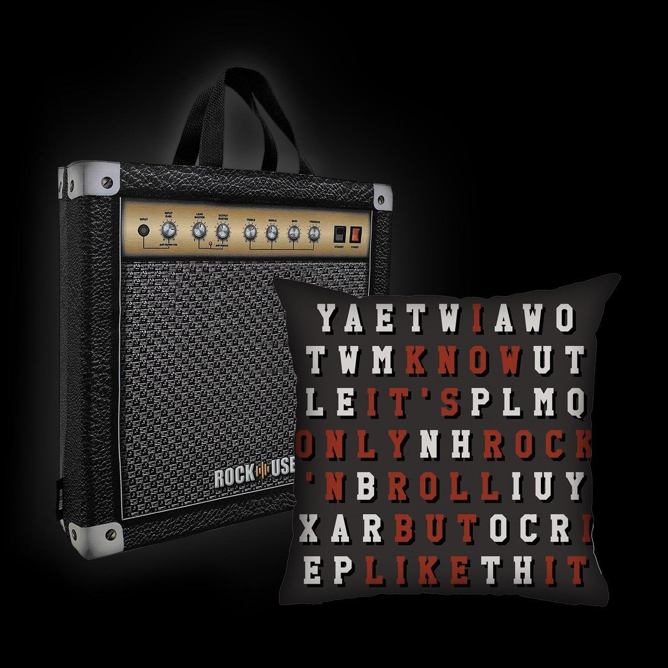 Almofada Bia Lombardi - It's only rock n'roll but I like it!