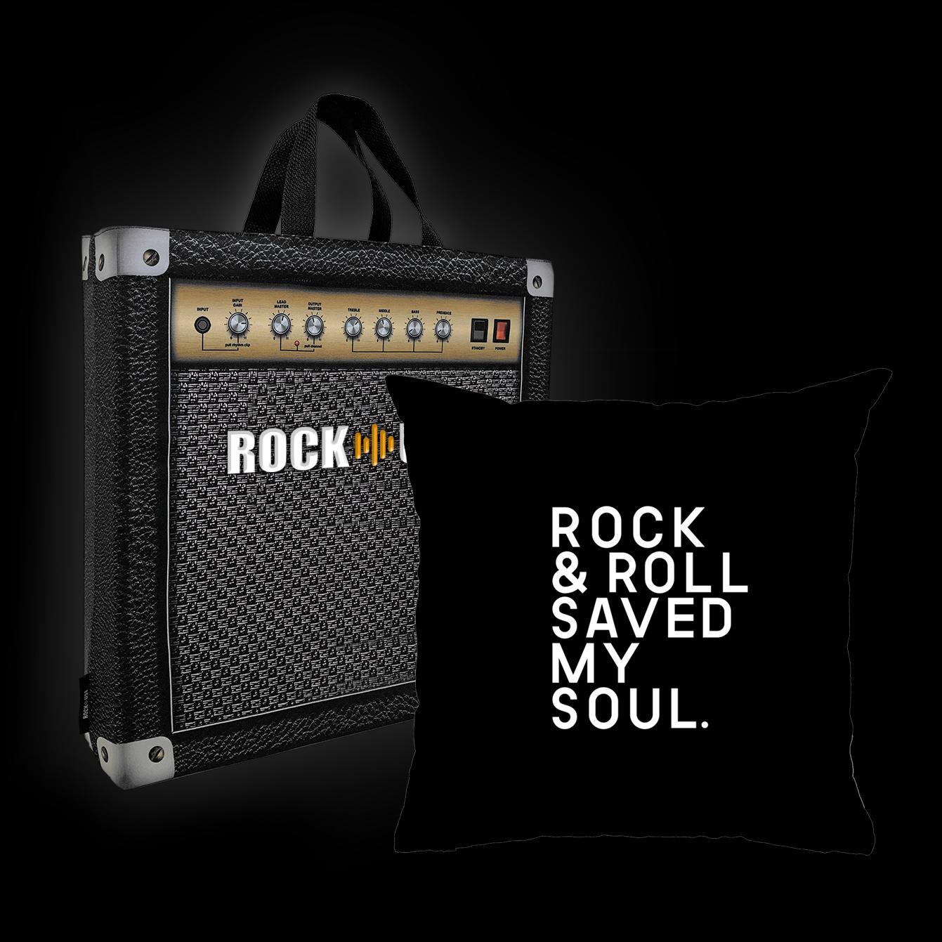 Rock Use - Rock & Roll saved my soul (Preto)
