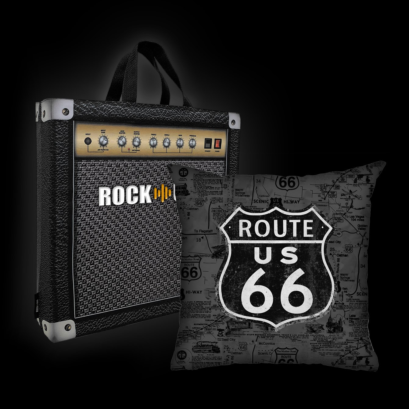 Rock Use - Route 66 (Cinza)