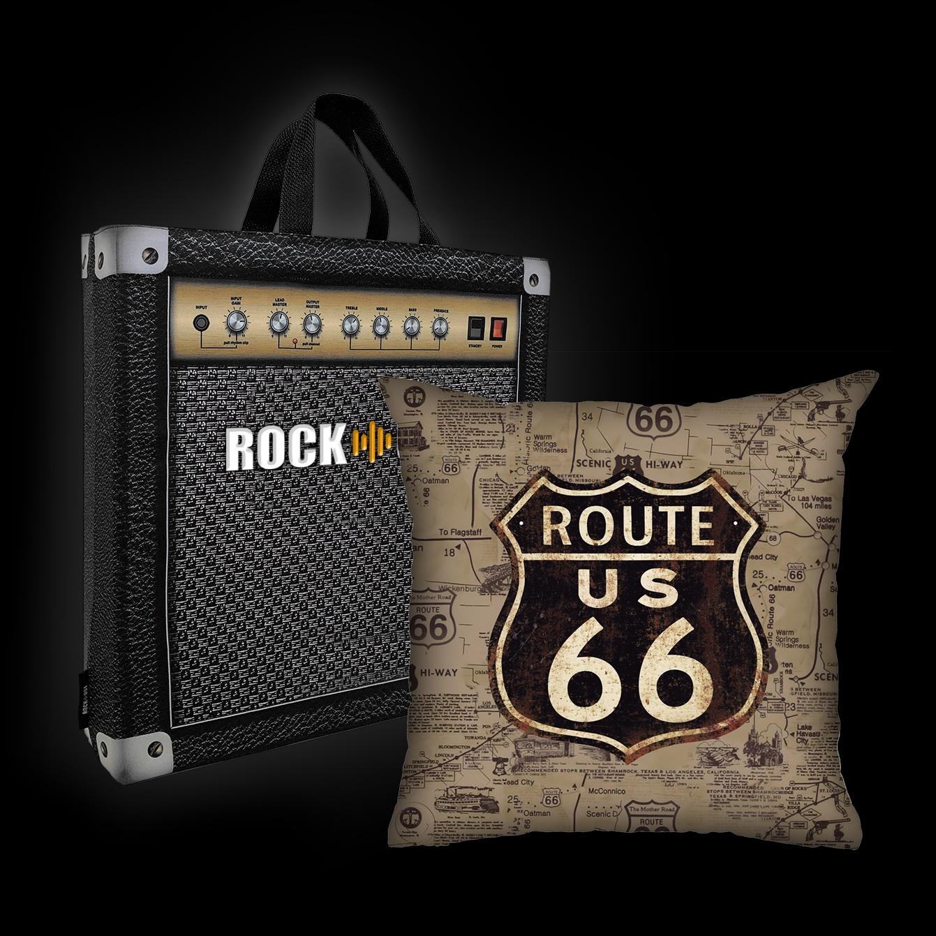 Rock Use - Route 66 (Sépia)